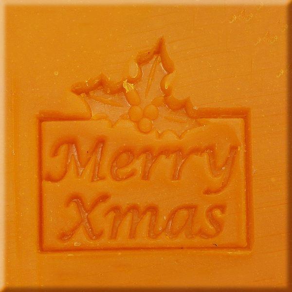 【香草工房】風格皂章~MB001聖誕祝福