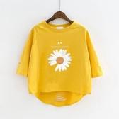 女大童純棉T恤半袖上衣夏季小雛菊寬鬆童裝洋氣韓版短袖女童體恤 小城驛站