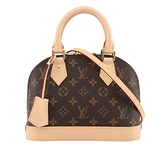 【LV】Monogram Alma BB手提/斜背包 M53152