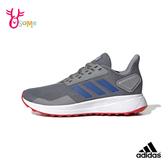 adidas童鞋 DURAMO 男童運動鞋 透氣 慢跑鞋 跑步鞋 避震耐磨跑鞋  R9378#灰藍◆OSOME奧森鞋業