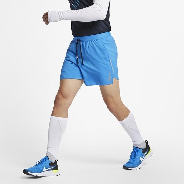NIKE FLEX STRIDE 男裝 短褲 慢跑 五吋 訓練 透氣 藍 【運動世界】 AJ7778-435