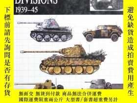 二手書博民逛書店waffen-ss罕見divisions 1939-45 精裝Y