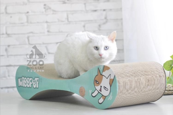 ZOO│MISSPET大號貓抓板不傷爪瓦楞紙磨爪貓薄荷寵物玩具用品