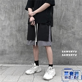 工裝短褲男休閒五分褲韓版潮流寬鬆【英賽德3C數碼館】