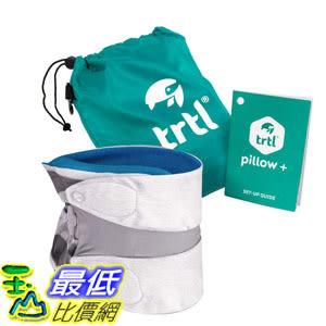 [8美國直購] 旅行枕 Trtl Pillow Plus Travel Pillow Fully Adjustable Neck Pillow Airplane Travel Car Bus Rail