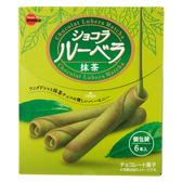 日本 BOURBON 抹茶巧克力風味蛋捲 6入