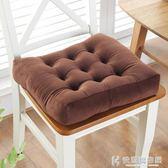 坐墊防滑棉花椅墊學生加厚榻榻米屁股墊教室方形凳子布藝毛絨 NMS快意購物網
