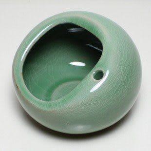 防風球形煙缸 陶瓷 特價
