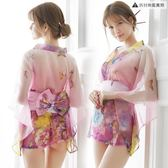 情趣內衣服女性感透視大碼日系和服激情套裝騷【奈良優品】