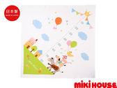 MIKI HOUSE BABY 日本製身高尺紗布大浴巾(白)