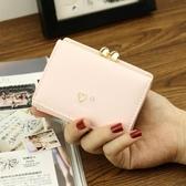 爆款錢包女短款學生韓版新款簡約可愛小清新三折疊小零錢包夾 韓國時尚週