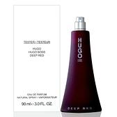 Hugo Boss Deep Red 深紅誘惑女性淡香精 90ml Tester 包裝