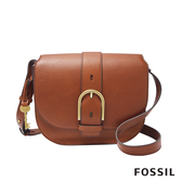 FOSSIL WILEY 真皮復古美型側背包-咖啡色 ZB7957200