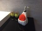 【麗室衛浴】國產  陶瓷 按壓菱形款 檯面式給皂機  G-625-8