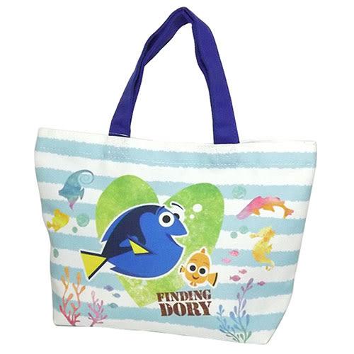 《SHO-BI》海底總動員2:多莉去哪兒 帆布迷你提袋(Q版條紋)★funbox生活用品★_SB73942