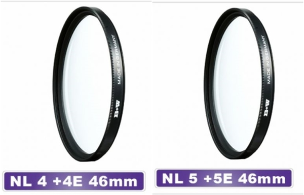 B+w F-Pro Close-up NL1+1E NL2+2E NL3+3E NL4+4E NL5+5E 近攝鏡 微距 46mm