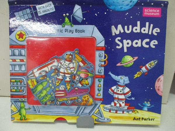 【書寶二手書T9/少年童書_J91】Muddle Space_Ant Parker