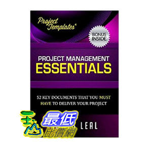 [104美國直購] PROJECT TEMPLATES® - 52 Essential Project Management Documents - CD ROM - Processes