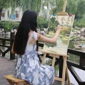 畫板畫架套裝木質支架式素描油畫架多功能【雲木雜貨】