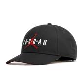 NIKE JORDAN 黑色 刺繡 可調 老帽 男女(布魯克林) CK1248-010