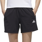 Adidas MH 1/4 SHORTS 女 黑 運動 慢跑 短褲 FT2879