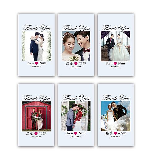 幸福婚禮小物❤方形照片客製款 貼紙 500張入❤貼紙/客製化