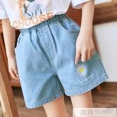 女童牛仔短褲外穿洋氣兒童夏裝褲子中大童夏季新款薄款寶寶百搭潮 韓慕精品