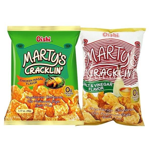 菲律賓 Oishi marty's cracklin'青豆酥點心食品(90g) 款式可選【小三美日】