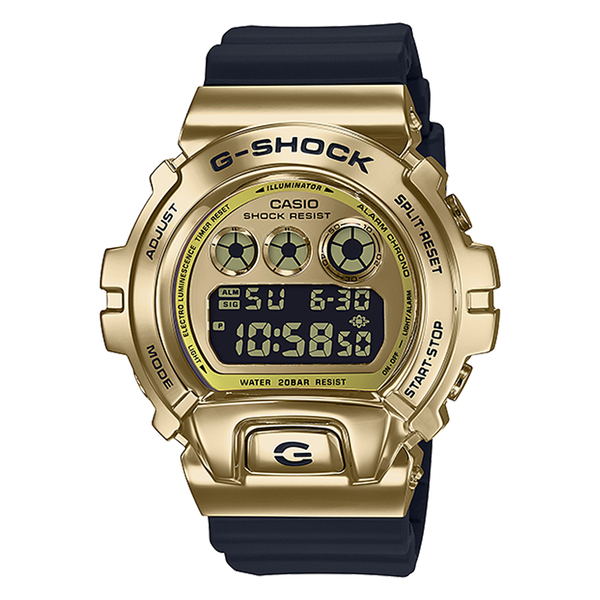 CASIO 手錶專賣店卡西歐 GM-6900G-9 G-SHOCK 街頭風格電子錶 防水200米 耐衝擊構造 冷光照明