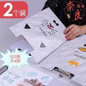 店長推薦▶【買一送一】A4板夾文件夾子墊板夾板書寫夾紙