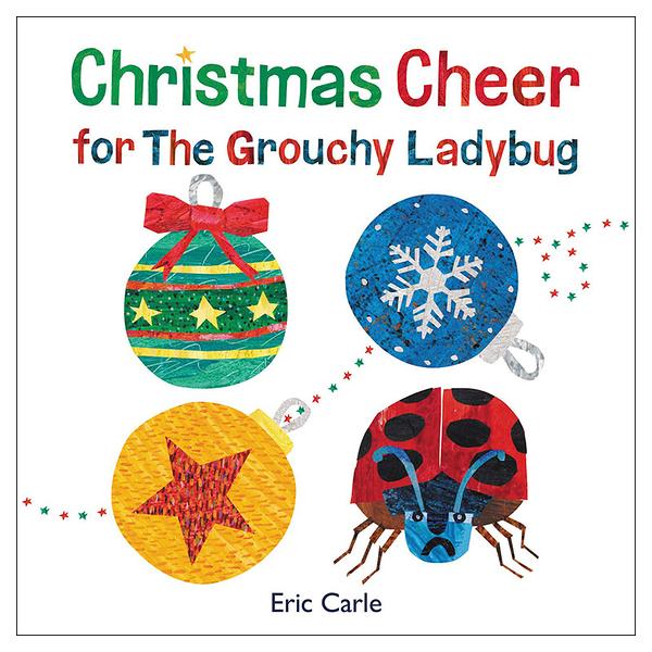 【麥克書店】Christmas Cheer For The Grouchy Ladybug聖誕節節慶英文繪本