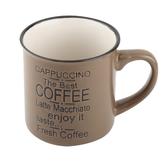 復古琺瑯瓷造型杯 咖啡 CB399 NITORI宜得利家居