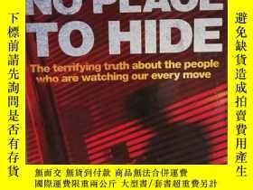 二手書博民逛書店無處可藏:公民隱私被監視的真相罕見No Place to Hid