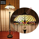 INPHIC-精品片狀客廳彩玻歐式復古玻璃個性落地燈_S2626C