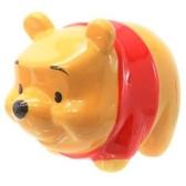 〔小禮堂〕迪士尼 小熊維尼 全身造型陶瓷存錢筒《黃》擺飾.撲滿.儲金筒 4979274-15287