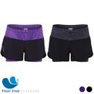 【零碼出清】ZOOT 時尚黑#M 女款 瑜珈式二合一輕肌能跑步褲 (恕不退換貨)