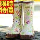 雨靴-女雨具防滑有型防水女長筒雨鞋54k...