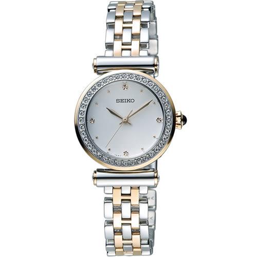 SEIKO 精工 晶彩時刻時尚腕錶 7N01-0HY0P 雙色 SRZ466P1