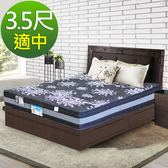 【HONEY BABY】米蘭二線全封邊乳膠系列-高支撐透氣型獨立筒床墊 單人加大3.5x6.2尺