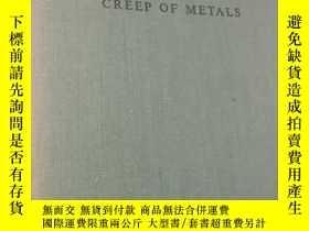 二手書博民逛書店CREEP罕見OF METALS金屬蠕變Y107628 L.A.