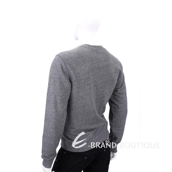 KENZO 灰色飛碟圖案長袖上衣 1540228-06