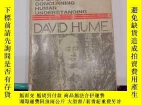 二手書博民逛書店an罕見enquiry concerning human understanding休謨(V083)Y1734