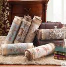 歐式沙發糖果枕腰靠可當扶手 護頸圓柱型可拆洗款BS17411『愛尚生活館』