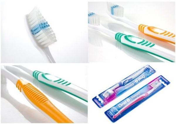 專品藥局 歐樂B Oral-B Classice 軟毛牙刷 名典型 4支組 顏色隨機出貨 (波浪纖細刷毛)【2005692】
