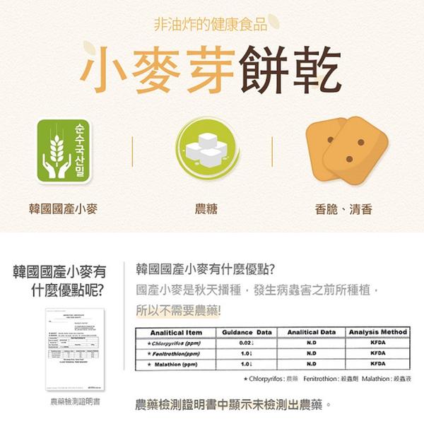 韓國 LUSOL 小麥芽餅乾 30g 寶寶餅 嬰兒餅乾 米餅 3059
