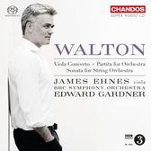 【停看聽音響唱片】【SACD】詹姆士.艾尼斯 / 加德納 / 華爾頓:中提琴協奏曲 / 管弦樂組曲