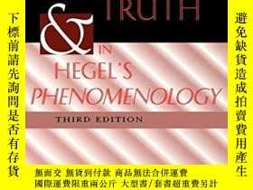 二手書博民逛書店History罕見And Truth In Hegel s PhenomenologyY256260 Mero
