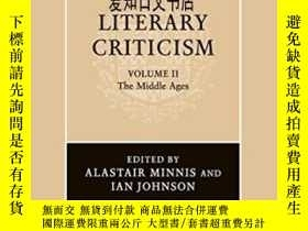 二手書博民逛書店【罕見】2009年出版 The Cambridge History Of Literary Criticism