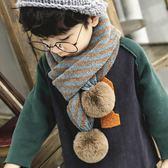 兒童圍巾秋冬男寶寶圍巾女童圍脖
