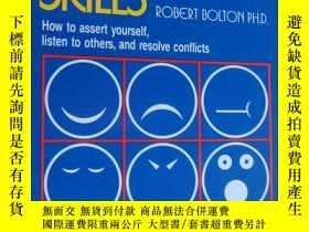 二手書博民逛書店People罕見Skills:How to assert yourself,listen to others,an